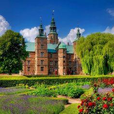Rosenborg Castle in Denmark. Photo courtesy of jerricatan on Instagram.