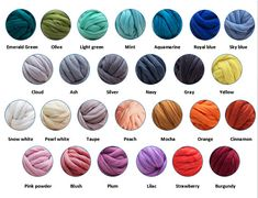 Multiply the length times the width in inches and divide by Cowl/infinity scarf - lbs; Arm Knitting Yarn, Giant Knitting, Chunky Knit Yarn, Super Chunky Yarn, Diy Merino Wool, Wool Yarn, Jumbo Yarn, Extreme Knitting, Knitted Blankets
