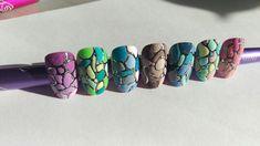 Sugar nail art design