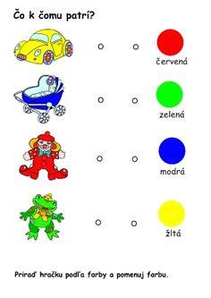 hračky a predmety _pracovný list_čo k čomu patrí