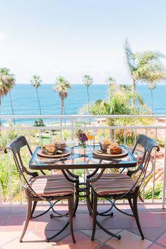 La Valencia Hotel, Outdoor Tables, Outdoor Decor, Outdoor Furniture Sets, Home Decor, Decoration Home, Room Decor, Interior Design, Home Interiors