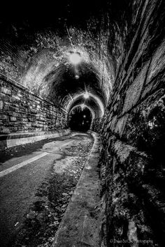 """500px / Photo """"Light at the end of the tunnel"""" by Mark Suzuki #blackwhite http://pinterest.com/sucailiu/"""