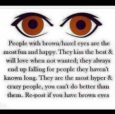 To true. I wonder if it's more true since mine are so dark.