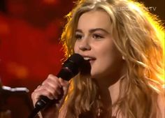 Emmelie de Forest - 'Only Teardrops' (Denmark's Got Talent) This girl has a remarkable voice and truly a great talent.