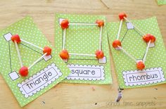 Playdough Shapes: Fun way to Teach Preschoolers Geometry