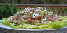 Receta de Ensalada de Langostas con Camarones, una preparación fresca y deliciosa, ideal como aperitivo o como plato principal, Preparación paso a paso.