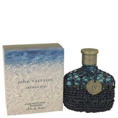 John Varvatos Artisan Blu by John Varvatos Eau De Toilette Spray 2.5 oz
