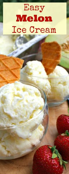 Easy Melon Ice Cream