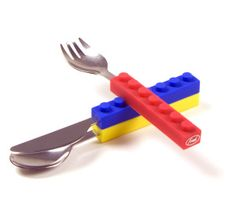 Lego stack cutlery for the kids !