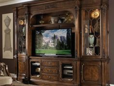 Traditional entertainment center wall unit by fine furniture design Floating Entertainment Center, Entertainment Center Decor, Entertainment Units, Fine Furniture, Furniture Design, Furniture Nyc, Furniture Websites, Cabinet Furniture, Furniture Companies