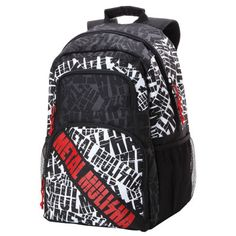 739a495a42d Metal Mulisha Wallstreet Backpack Black Bike Gear UK Wall Street, Buy Metal,  Black Backpack