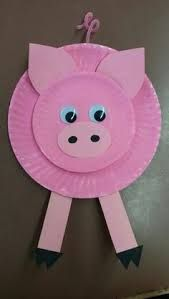 animal crafts for kids 9 Cute Pig Arts And Crafts Ideas for Kids and Toddlers Pappteller Pig Crafts Kids Crafts, Daycare Crafts, Preschool Crafts, Craft Projects, Craft Ideas, Arts And Crafts For Kids Toddlers, Farm Animals Preschool, Paper Plate Crafts For Kids, Preschool Farm Theme