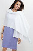 linen-blend knit wrap from J.Jill