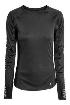 size 40 2c459 fb408 Running top Black Tops, Shirts, Sport Outfits, Running, Sleeves, Lady,