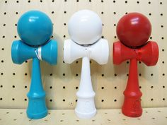 All painted Kendamas