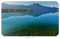 Wolfgangsee River, Mountains, Places, Nature, Outdoor, Pictures, Water, Outdoors, Naturaleza