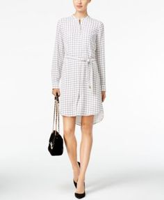 MICHAEL Michael Kors Printed Shirtdress $59.99 Stunning and sophisticated, MICHAEL Michael Kors' printed shirtdress is a must for your busy workweek.