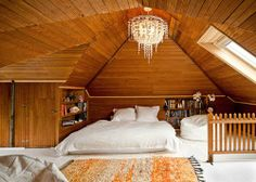Ideas for Making the Most Out of Your Attic Space | Lighting & Interior Design Ideas Blog - Style Illuminated   Love the light