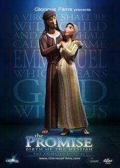 Mary and Joseph character card from The Promise: Birth of the Messiah