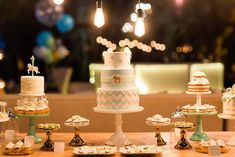 Cake table from a Vi