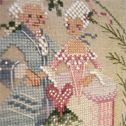 The Happy Couple free cross stitch pattern from Brookes Books Publishing