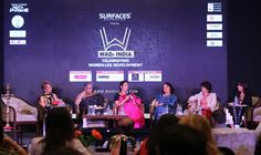 Panel discussion at WADe India - Ar. Sonali Bhagwati, Ar. Shiela Sri Prakash, Ar. Anupama Kundoo, Ar. Parul Zaveri and Ar. Canna Panel; moderated by Anuradha Chatterjee