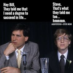 See related links to what you are looking for. Millionaire Mentor, Millionaire Quotes, Bill Gates, Steve Jobs, Money Magazine, Good Motivation, Practical Life, Higher Education, Good People