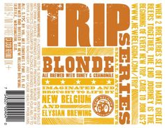"New Belgium & Elysian Go On Their Newest ""Trip"" with Blonde Ale  http://bsj.me/1ee"