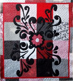 2548 Best Red White Black Quilts Images In 2019 Quilt