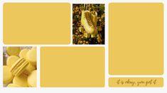 pc wallpaper - yellow aesthetic