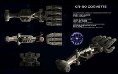 CR-90 Corellian Corvette ortho (3) by unusualsuspex.deviantart.com on @deviantART