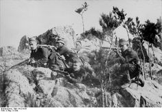 German Infantry in Tsingtao, China