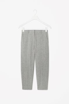 COS | Cropped wool trousers
