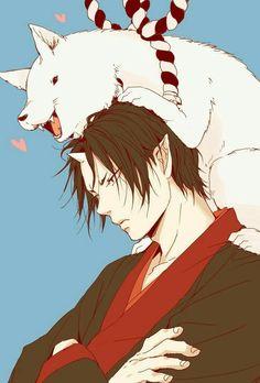 Hoozuki and Shiro Anime Boys, Manga Boy, Manga Anime, Anime Art, Kawaii Anime, Anime Rules, Muse Art, Another Anime, Handsome Anime