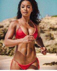 Black Girls In Bikinis — Hot Girls, Girls With Abs, Black Girls, Bikini Fitness, Bikini Workout, Latest Instagram, Instagram Girls, Mädchen In Bikinis, String Bikinis