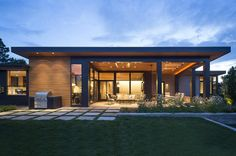 Modern Golf Course Home by HMH Architecture + Interiors - USA