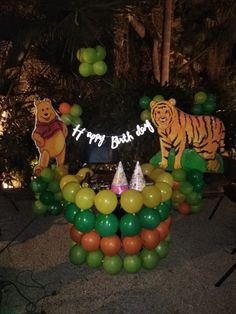 We love the cuteness filled decoration done on jungle theme by Venuelook for little Aarunya's birthday 🎂 bash. Wanna make your birthday venue look like a proper jungle setup ? Birthday Party Celebration, Birthday Bash, Birthday Party Decorations, It's Your Birthday, Happy Birthday, Birthday Venues, Party Organization, Jungle Theme, Wedding Planning