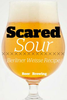 Scared Sour: Berliner Weisse Recipe