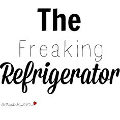 Yes, i am giving you a peek of my refrigerator!!!