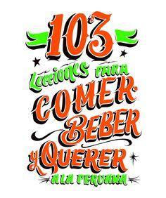 LIBRO - 103 Razones para querer a la Peruana on Behance
