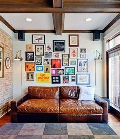 ...Couches for reading and dreaming. I would need tea... perhaps a long skinny shelf or table behind.