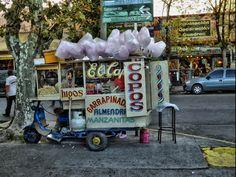 Típico Pochoclero, en BsAs, Argentina, por Fernando Reis