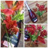 George Albert, o brasileiro de alma francesa, mandou para cá, para comemorar a entrada da primavera: flores e este espumante Brut Rosé! 👏🏻 Brut como eu amo ❤️ sabor leve, equilibrado, aroma predominante de frutas vermelhas e secas hummm doida para provar, este lançamento da marca, a noite promete hoje 😉tin tin e obrigada🥂🥂 @espumantesgeorgesaubert @comunicacaolilas #georgesaubert #brasileirodealmafrancesa #espumanterose #espalheprimavera #crsbrands #presskit #giulianaflores