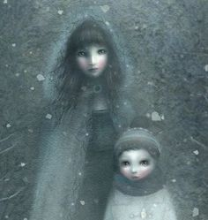 50 words for snow / Kate Bush by Lisa Evans