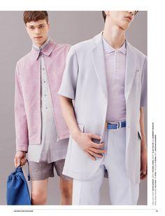 Mix It Up Look Sharp: Ben Crank + Jake Love for Seventh Man image Pastel Mens Fashions 002