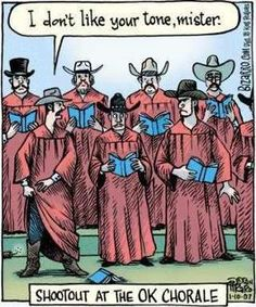A little vocal music humor...!