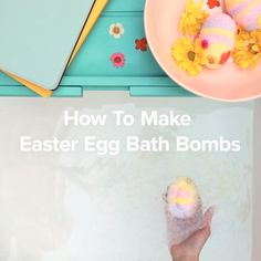 Even the Easter Bunny would love these springtime bath bombs!