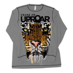 Tiger ''Cause An Uproar'' Long-sleeved Shirt - Adult Sizes   National Geographic Store