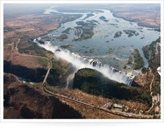..An ariel perspective..a topographic map..What To Do At Victoria Falls -..this is the wise ,big approach   AskMen