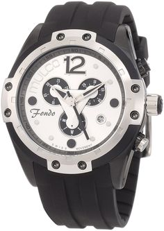 Mulco Unisex MW1-98485-021 Fondo Triangle Chronograph Swiss Movement Watch *** Special  product just for you. See it now!